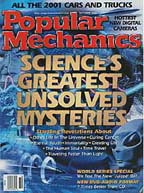 Popular Mechanics magazine October 2000 cover story mentions LaViolette's pulsar findings.