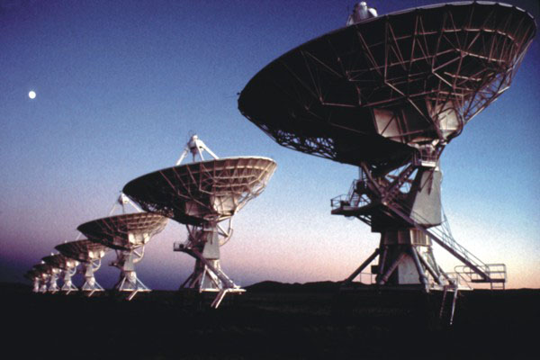 Very Large Array Telescope in New Mexico (National Radio Astronomy Observatory)