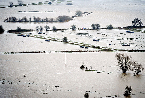 Flooding of Somerset Levels November 24, 2012 (Ben Birchall/PA Wire)