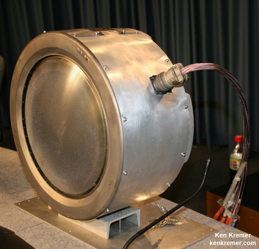 Dawn Spacecraft 30 cm Xenon Ion Thruster