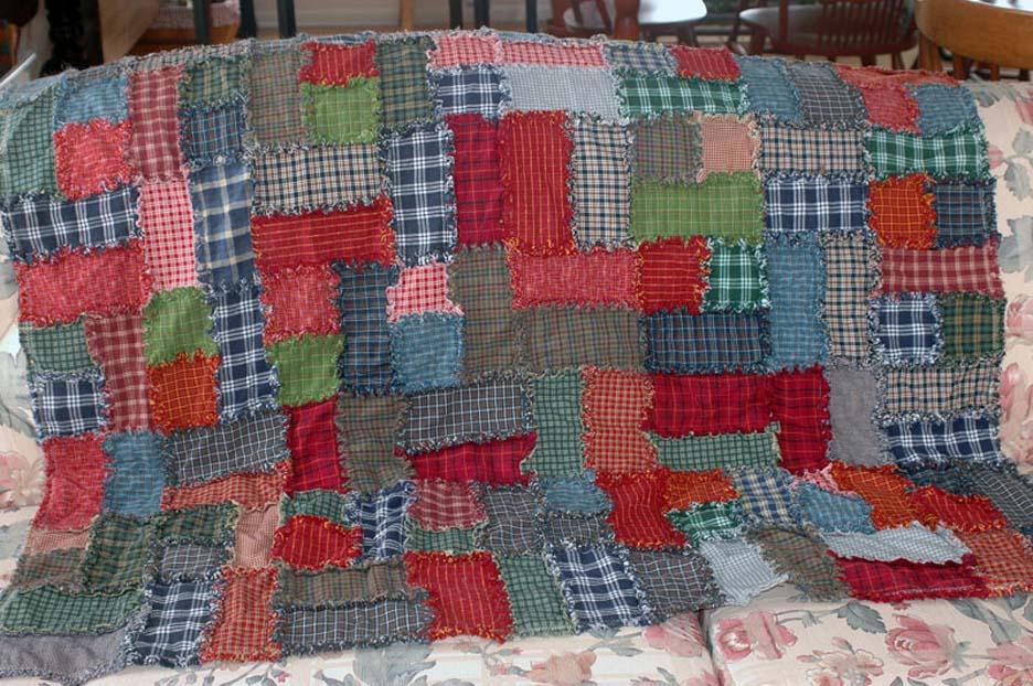 Standard physics resembles a patchwork quilt.